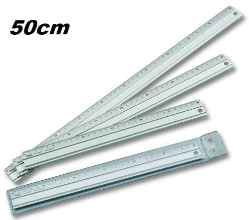 ALUMINIUM RULER - Алуминиева линия 50 см от Folia,Germany