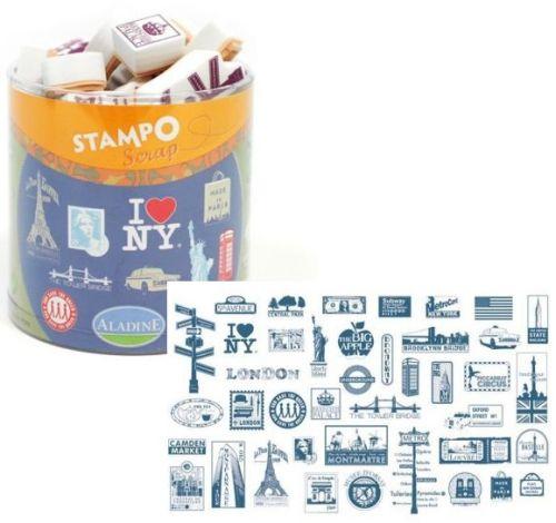 ALADINE STAMPO Scrap - Комплект гумени печати 03718