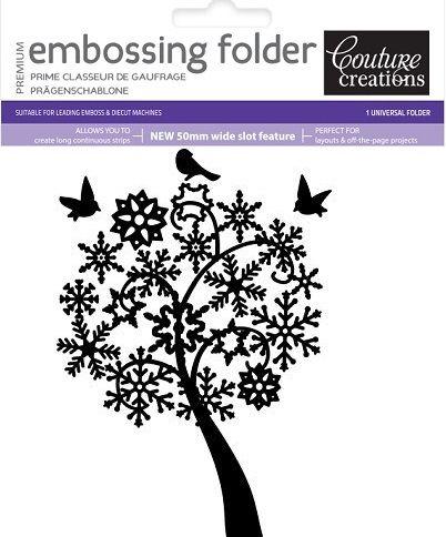 COUTURE CREATIONS FOLDER  - Папка за релеф(ембос)