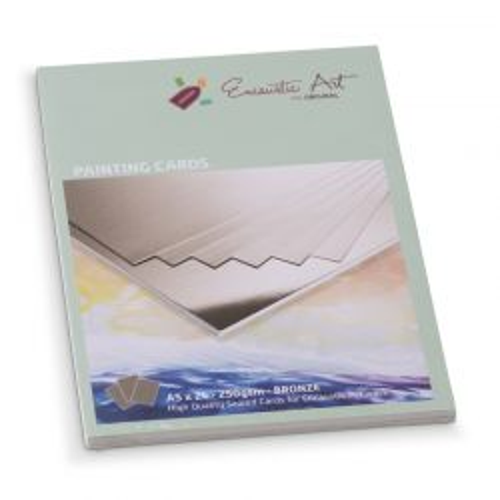 Encaustic Cards - Комплект 24 бр. картички за енкаустика А5 BRONZE