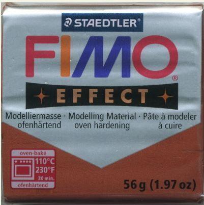 FIMO EFFECT - ПОЛИМЕРНА ГЛИНА Metallic Copper 27