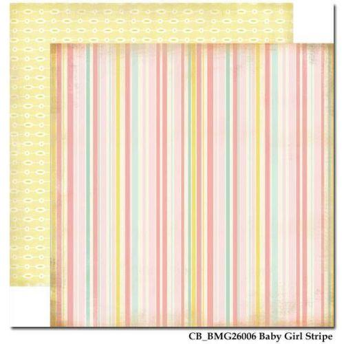 CARTA BELLA USA # BABY MINE - Дизайнерски скрапбукинг картон 30,5 х 30,5 см.