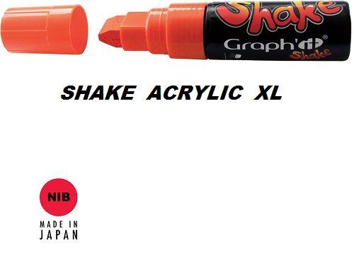 SHAKE ACRYLIC MARKER XL -  Акрилен PERMANENT маркер MANGO