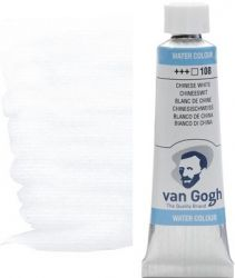VAN GOGH WATERCOLOUR - Екстра фин акварел 10мл #  Chinese white 108