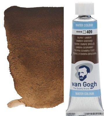 VAN GOGH WATERCOLOUR - Екстра фин акварел 10мл # Burnt umber 409