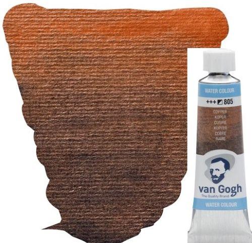 VAN GOGH WATERCOLOUR - Екстра фин акварел 10мл # COPPER METALLIC