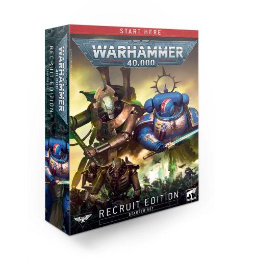 WARHAMMER 40000 - RECRUIT EDITION STARTER SET - настолна игра