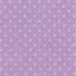 BBP, USA Embossed Dot 30.5x30.5см - GRAPE JELLY