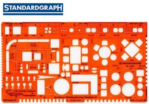 STANDARDGRAPH ARCHITECTS TEMPLATE 1:50 , model 7301