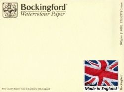 BOCKINGFORD CP 300g CREAM - АКВАРЕЛЕН БЕЗКИСЕЛИНЕН КАРТОН 56х76