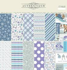 """AUTHENTIQUE USA # FROSTED 12"""" x 12""""- Дизайнерски блок 30.5 X 30.5"""