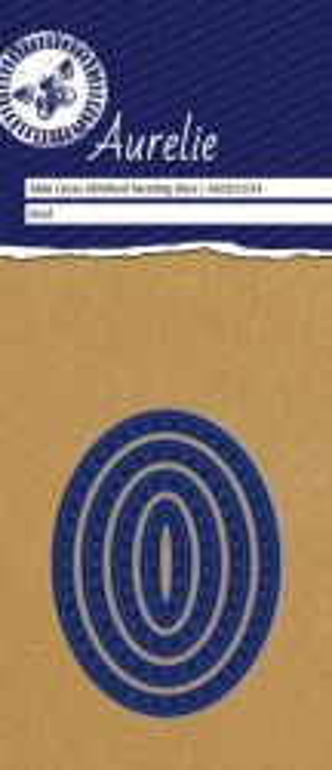 AURELIE OVAL NESTING  Dies  - Фигурална щанца за рязане и релеф