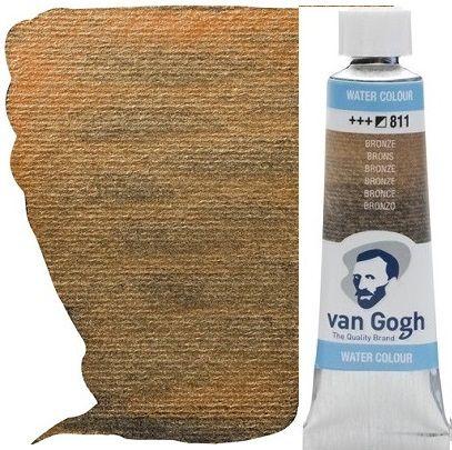 VAN GOGH WATERCOLOUR - Екстра фин акварел 10мл # BRONZE METALLIC