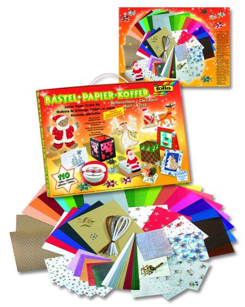 BASTELBOX Craft комплект 110 части `Коледа` - Folia,Germany