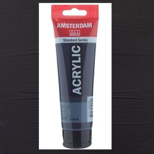 AMSTERDAM ACRYLIC - Акрилна боя за живопис 120 мл. - Paynes Grey 708
