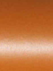 PEARL - Двустранен перла-металик картон 285гр # 51x72cm. ОРАНЖ