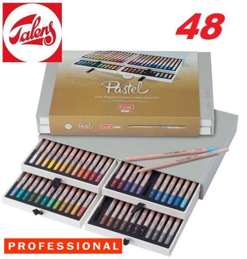 # DESIGN PASTEL PENCIL BOX 48 - Профи ПАСТЕЛНИ моливи за дизайн и рисуване 48цв