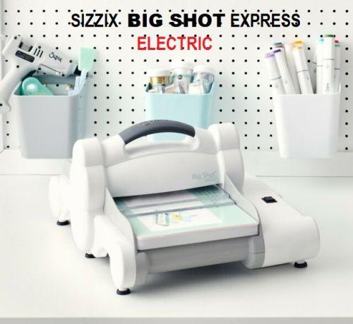 # BIG SHOT EXPRESS -  Машина за изрязване и релеф ЕЛЕКТРИЧЕСКА