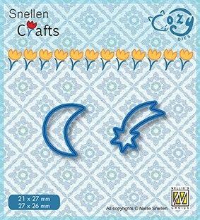 COZY DIES STARS - Фигурална щанца за рязане и релеф
