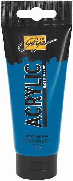 Goya ACRYLIC 100ml - Фин акрил  CERULEAN BLUE