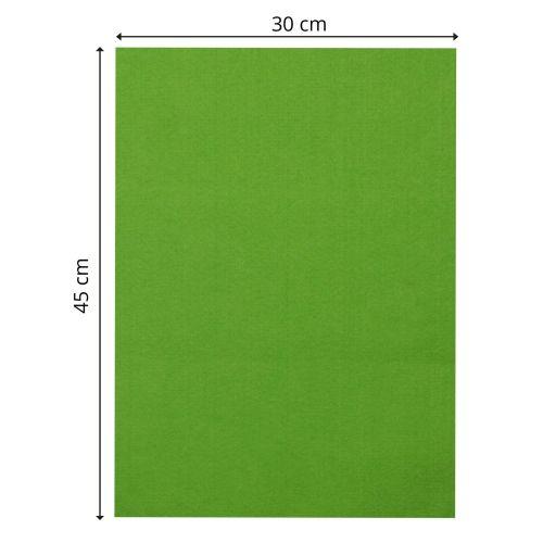 CREATIVE, Designer Felt - Дизайнерски филц 3,5мм  30 x 45 см. - Light green