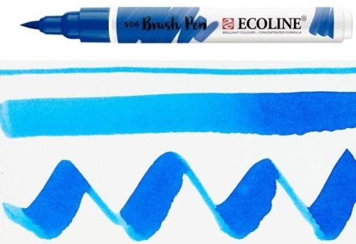 ECOLINE BRUSH PEN  - Дизайнерски маркер ЧЕТКА  - 506 ULTRAMARINE DEEP