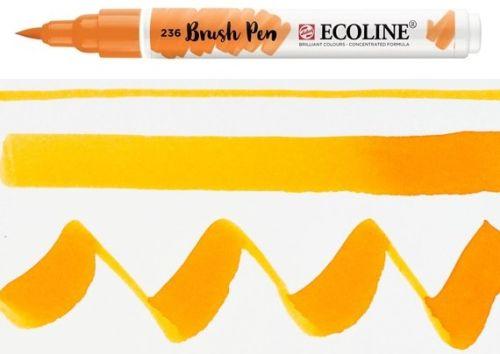 ECOLINE BRUSH PEN  - Дизайнерски маркер ЧЕТКА  - 236 LIGHT ORANGE