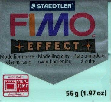 FIMO EFFECT - ПОЛИМЕРНА ГЛИНА Pastel aqua 305