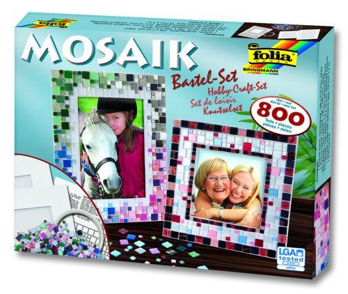 # MOSAIK SET FOLIA - Комплект с мозайки + 2 рамки / 798 части