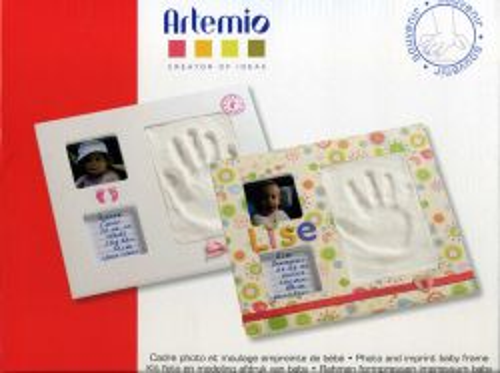 ARTEMIO FRAME SET - К-кт Фото рамка 28х24см+ моделин за отпечатък.