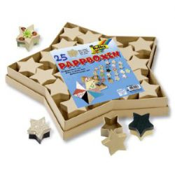 CRAFTBOX SET STARS - Комплект 25 кутии Folia-Germany 25 бр