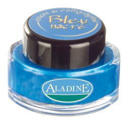 ALADINE CALLIGRAPHY Ink - Калиграфско мастило PEARLY BLUE